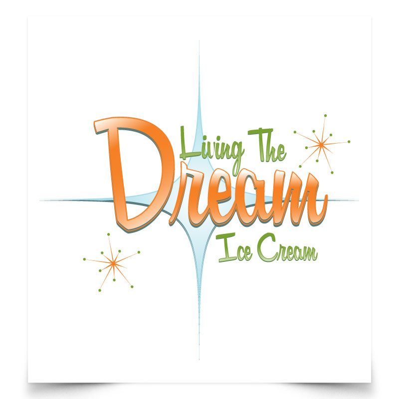 Living the Dream Logo Design